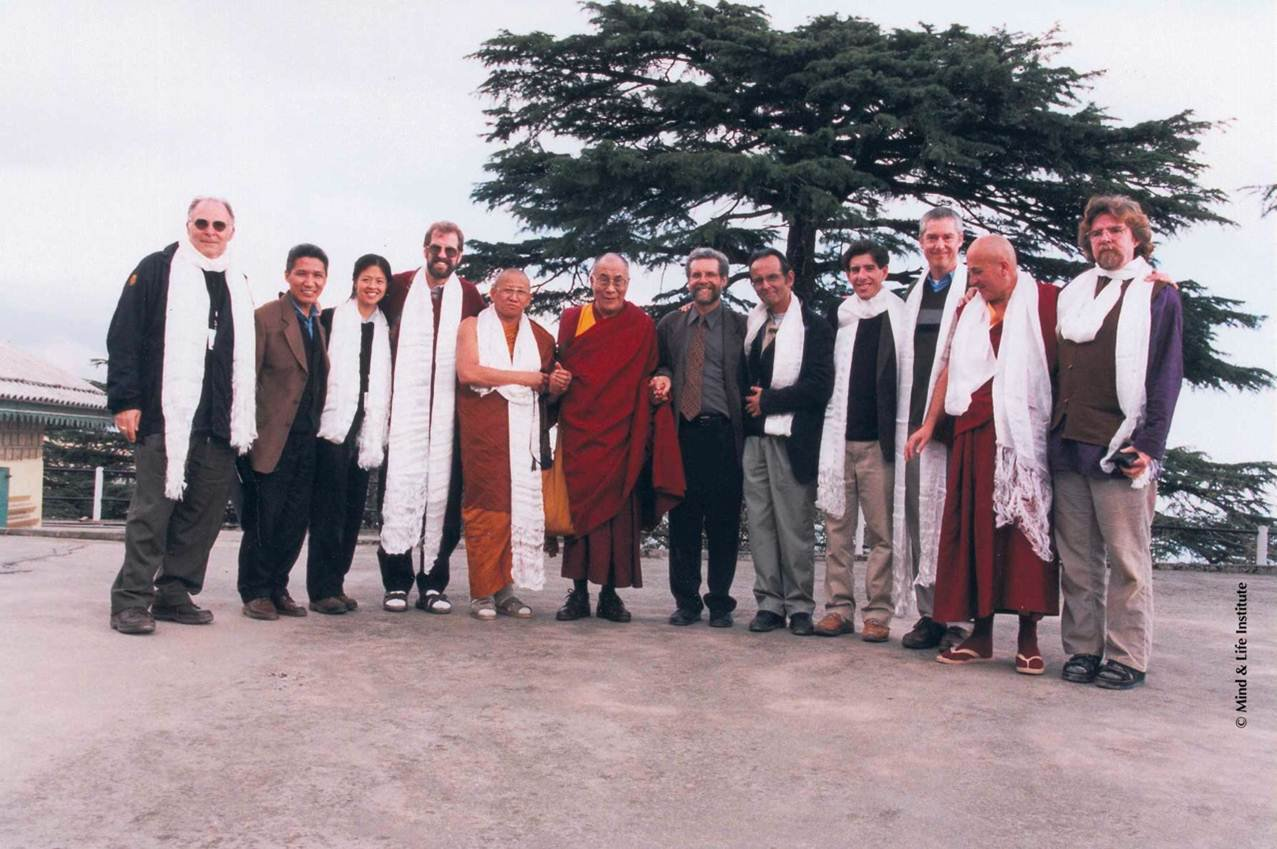 Paul Ekman Dalai Lama meeting mind life institute